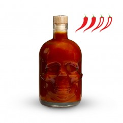 BARDZO OSTRY SOS SKULL HOT SAUCE - ULTRA HOT